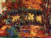 Claude Monet Japanese Bridge 1918 7 By Claude Monet