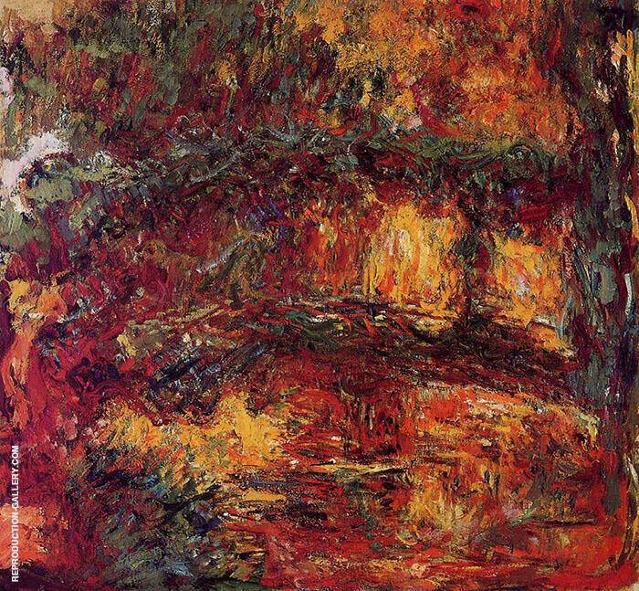 Japanese Bridge 1918 8 By Claude Monet
