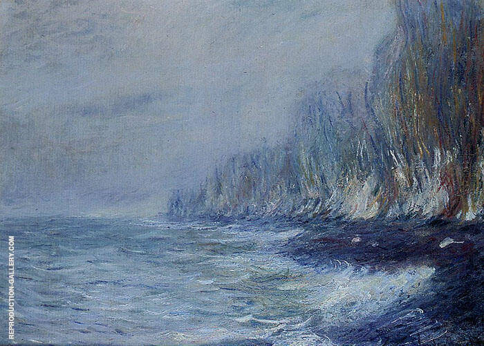 The Effect of Fog Near Dieppe 1882 By Claude Monet