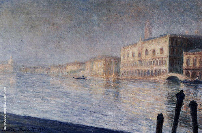 The Doges Palace 1908 By Claude Monet
