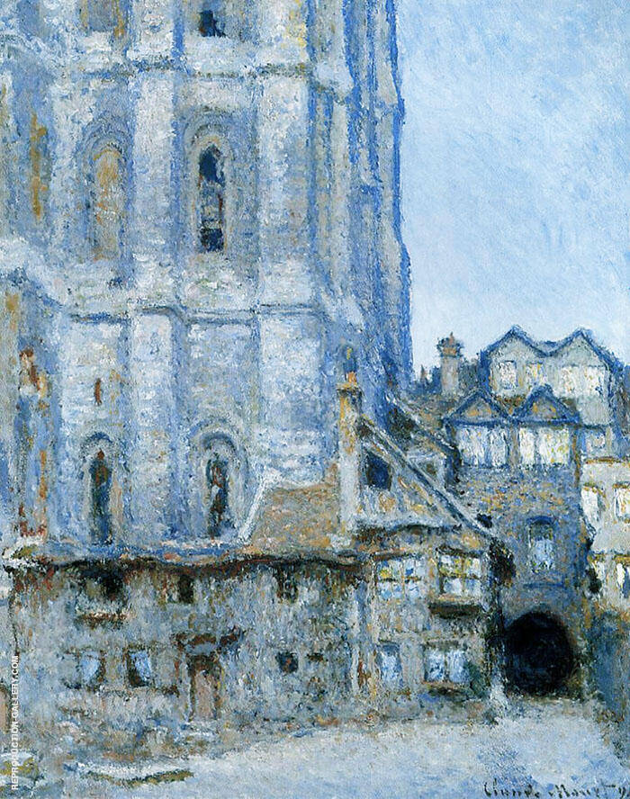 The Cour d'Albane 1892 By Claude Monet