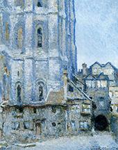 The Cour d'Albane 1892 By Claude Monet