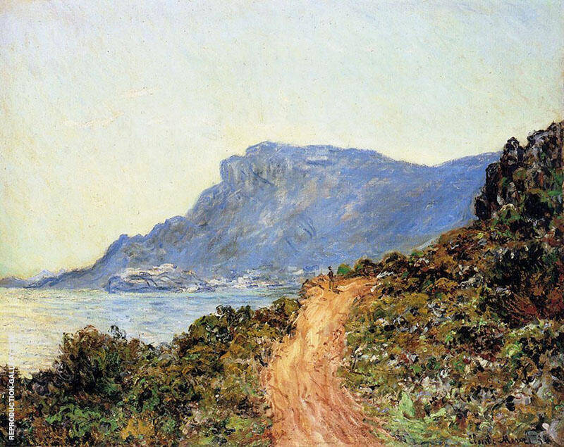 The Corniche of Monaco By Claude Monet
