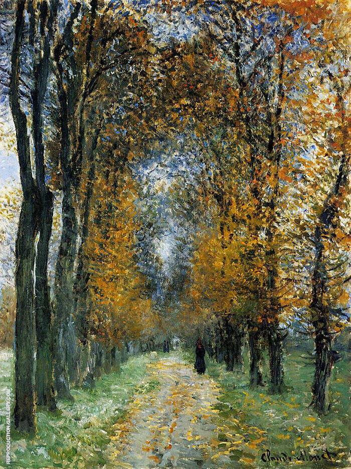 The Avenue 1878 By Claude Monet