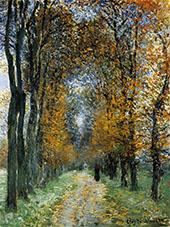 The Avenue 1878 By Claude Monet