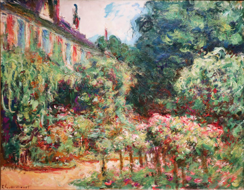 The Artists's House at Giverny 1913 By Claude Monet