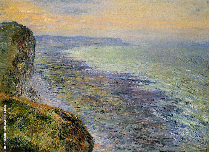 Seascape near Fecamp 1881 Painting By Claude Monet - Reproduction Gallery