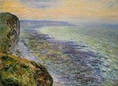 Seascape near Fecamp 1881 By Claude Monet