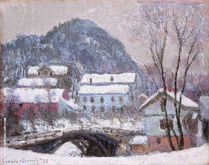 Sandviken Norway 1895 By Claude Monet