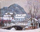 Sandviken Norway 1895 By Claude Monet