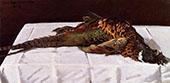 Pheasants 1869 By Claude Monet