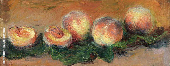 Peaches 1882 By Claude Monet
