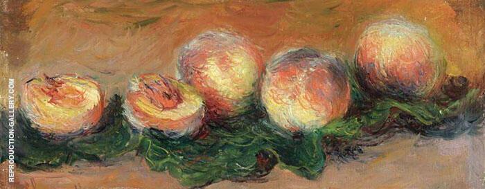 Peaches 1882 By Claude Monet
