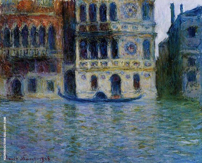 Palazzo Dario 1908 By Claude Monet