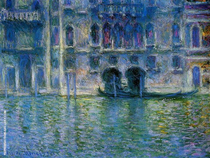 Palazzo Da Mula 1906 By Claude Monet