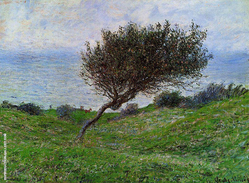 On the Coast at Trouville 1881 By Claude Monet