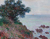 Mediterranean Coast Grey Weather 1888 By Claude Monet