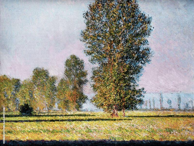 Limetz Meadow 1888 By Claude Monet