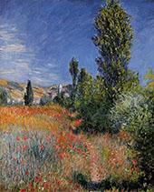Landscape on the Ile Saint Martin 1880 By Claude Monet