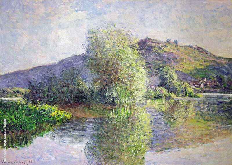Islets at Port Villez 1883 By Claude Monet