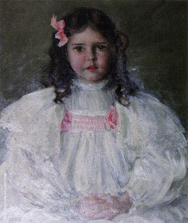 Caroline Allport Painting By William Merritt Chase - Reproduction Gallery