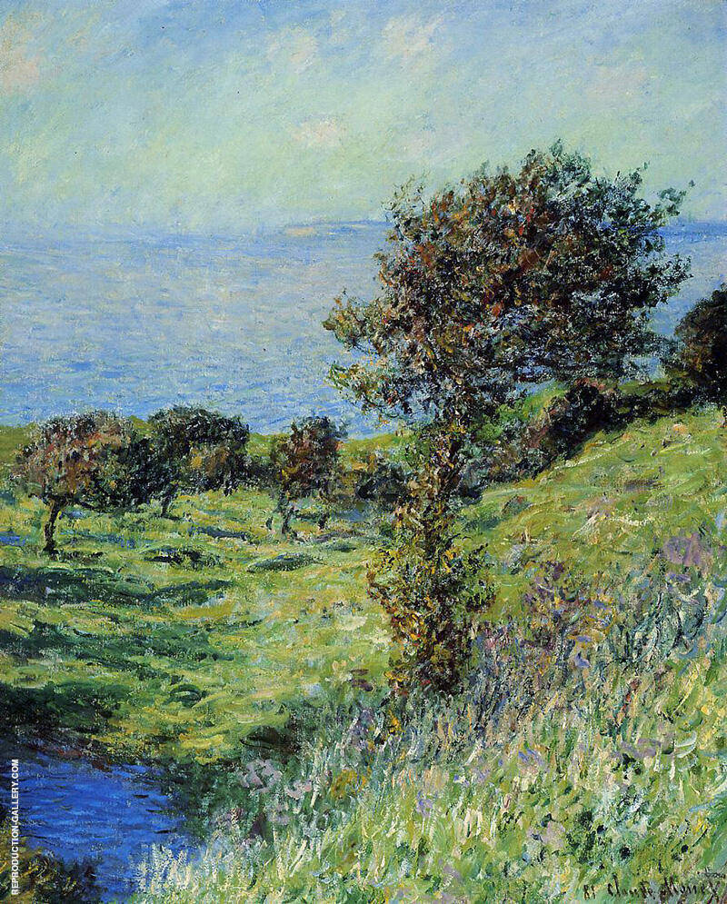 Gust of Wind 1881 By Claude Monet