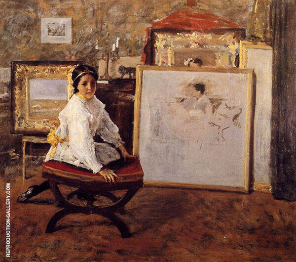 Did You Speak to Me 1897 By William Merritt Chase