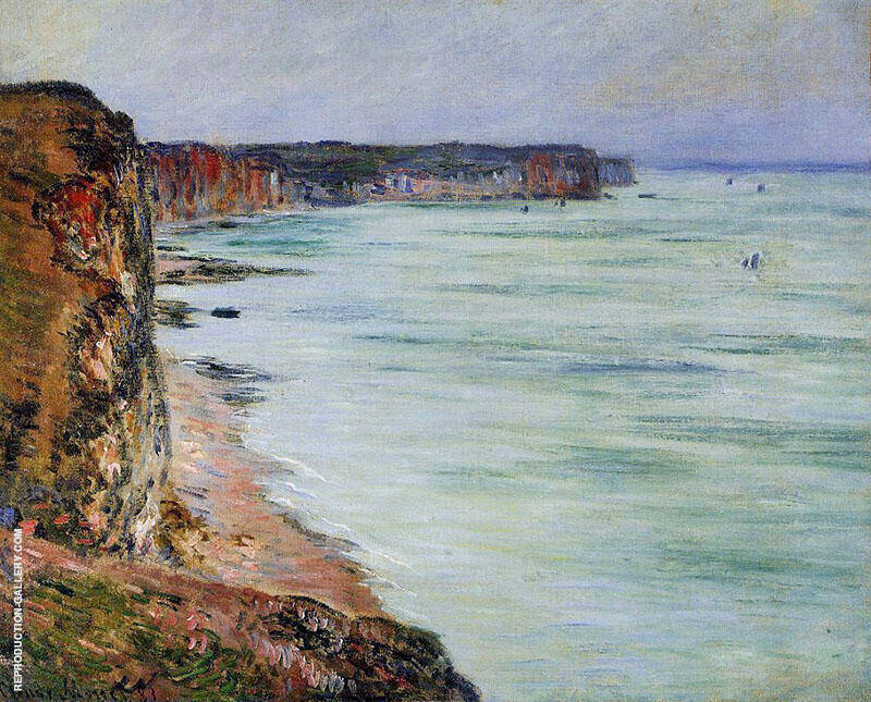 Calm Weather Fecamp 1881 By Claude Monet