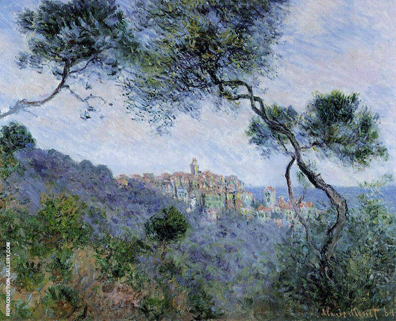 Bordighera Italy 1884 By Claude Monet