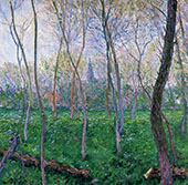Bennecourt 1887 By Claude Monet