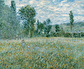The Meadow 1879 By Claude Monet