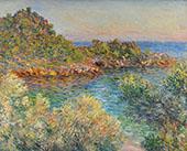 Pres Monte Carlo 1883 By Claude Monet