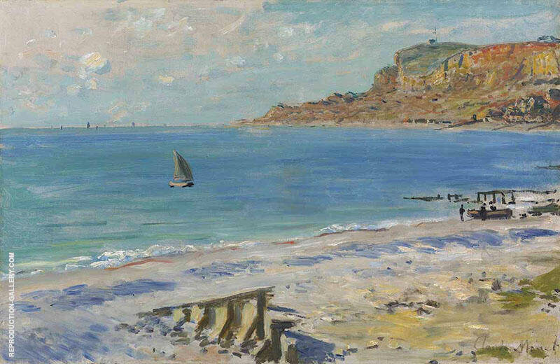 Sainte Adresse 1873 By Claude Monet