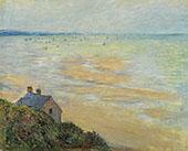Hut in Trouville 1881 By Claude Monet