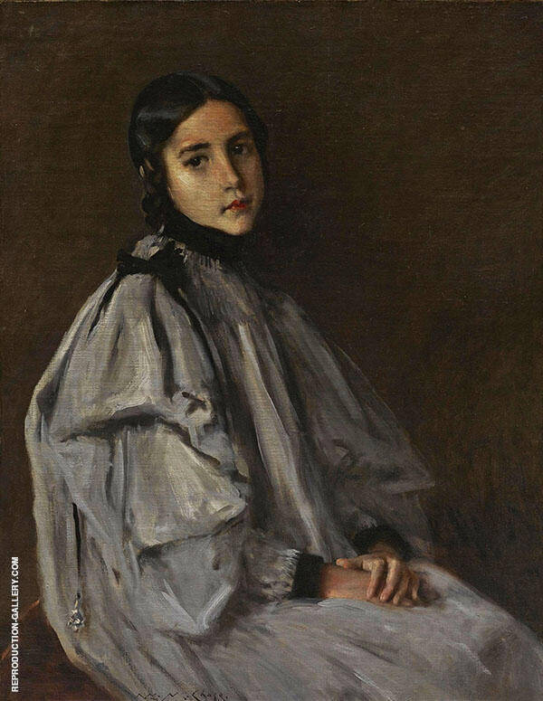 Dieudonnee Painting By William Merritt Chase - Reproduction Gallery