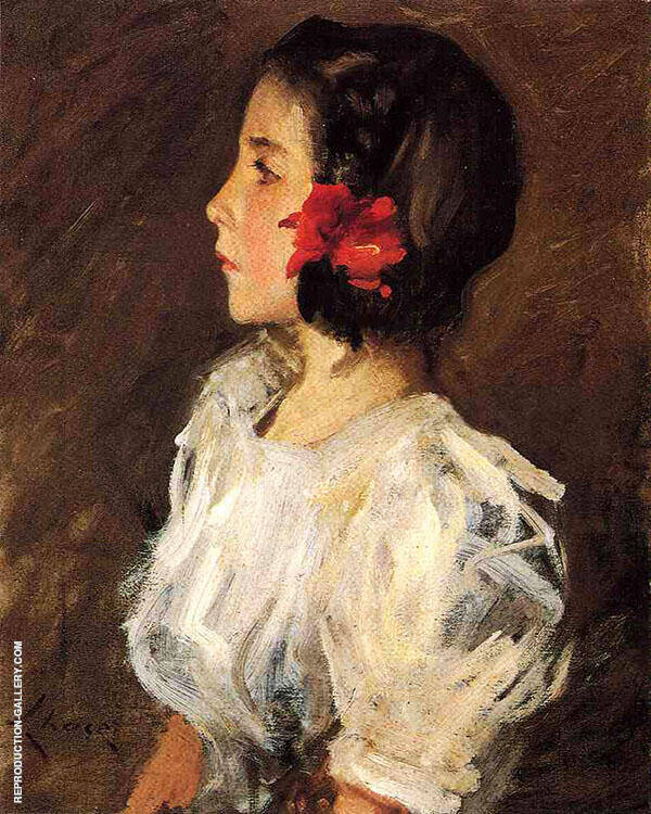 Dorothy 1897 Painting By William Merritt Chase - Reproduction Gallery