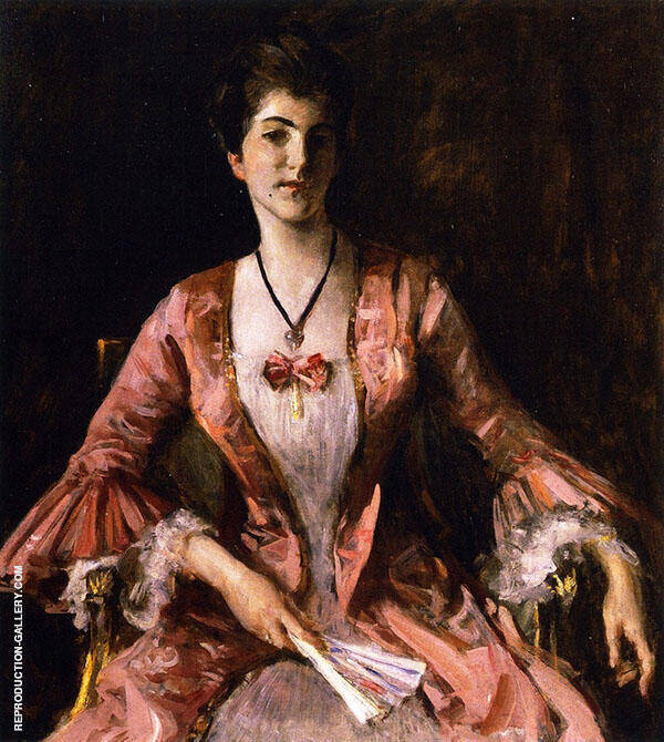 Dorothy III By William Merritt Chase