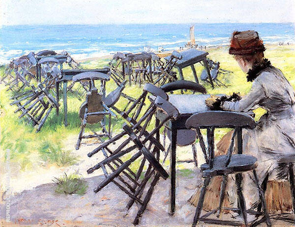End of The Season Painting By William Merritt Chase - Reproduction Gallery