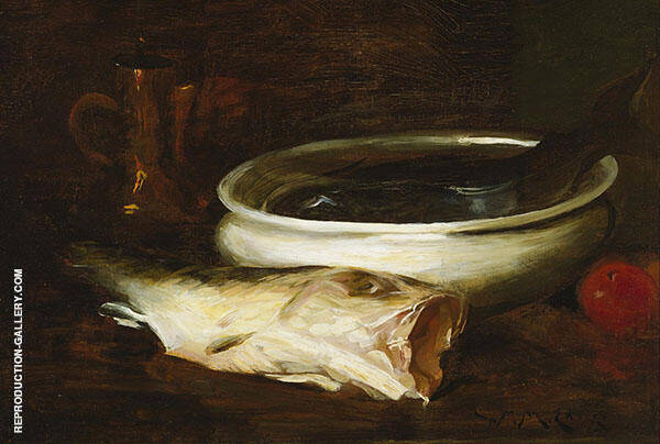Fish and Still Life By William Merritt Chase