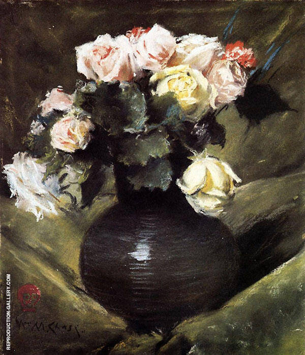 Flowers By William Merritt Chase