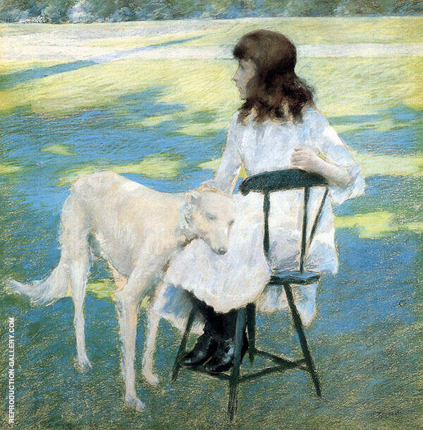 Good Friends By William Merritt Chase