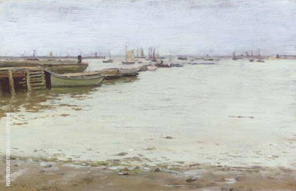 Gowanus Bay By William Merritt Chase