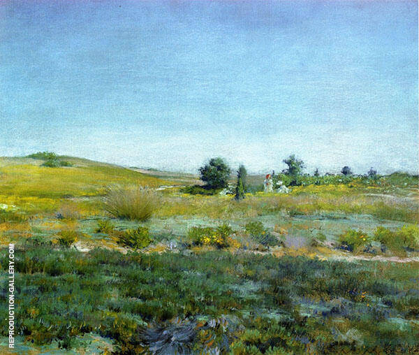 Gray Day in Spring By William Merritt Chase