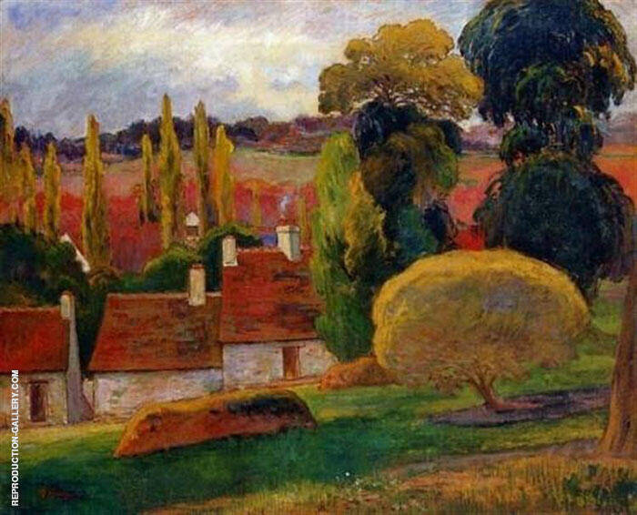 A Farm in a Brittany c1894 By Paul Gauguin