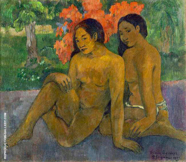 And the Gold of their Bodies 1901 By Paul Gauguin