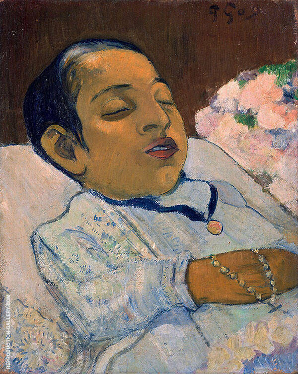 Atiti c1891 By Paul Gauguin