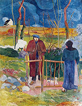 Bonjour Monsieur Gauguin 1889 By Paul Gauguin