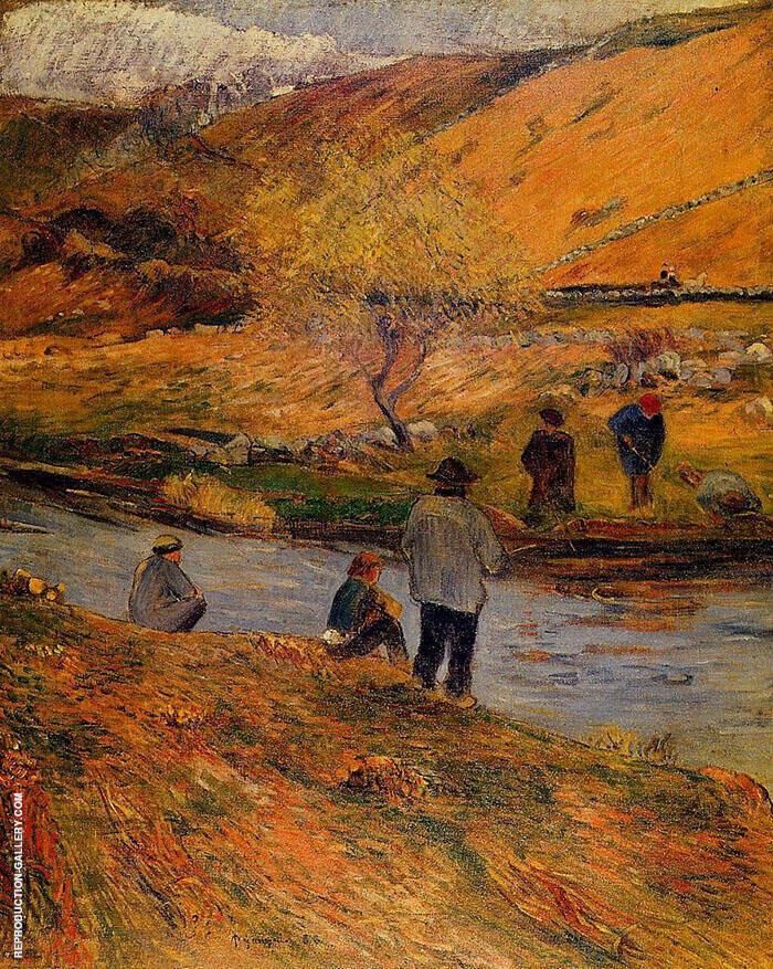 Breton Fishermen 1888 By Paul Gauguin