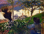 Breton Boy by the Aven River 1888 By Paul Gauguin
