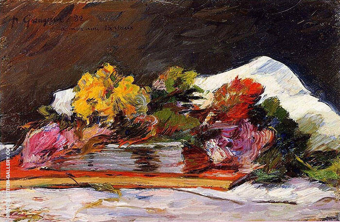 Bouquet of Flowers 1882 By Paul Gauguin